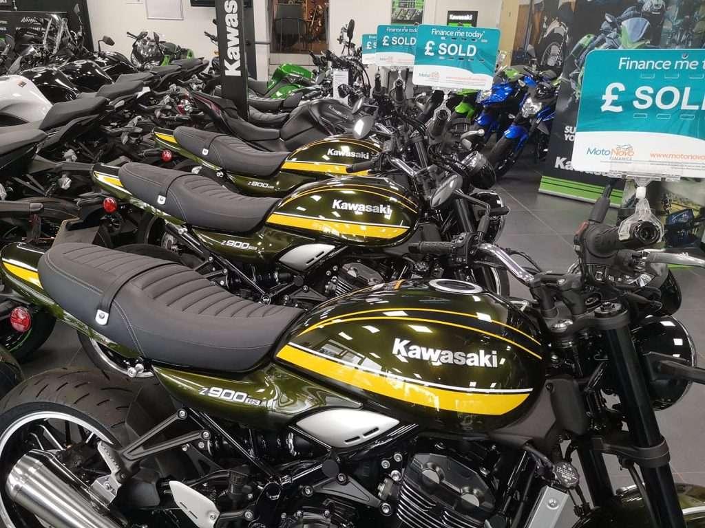 JW Groombridge Kawasakis sold