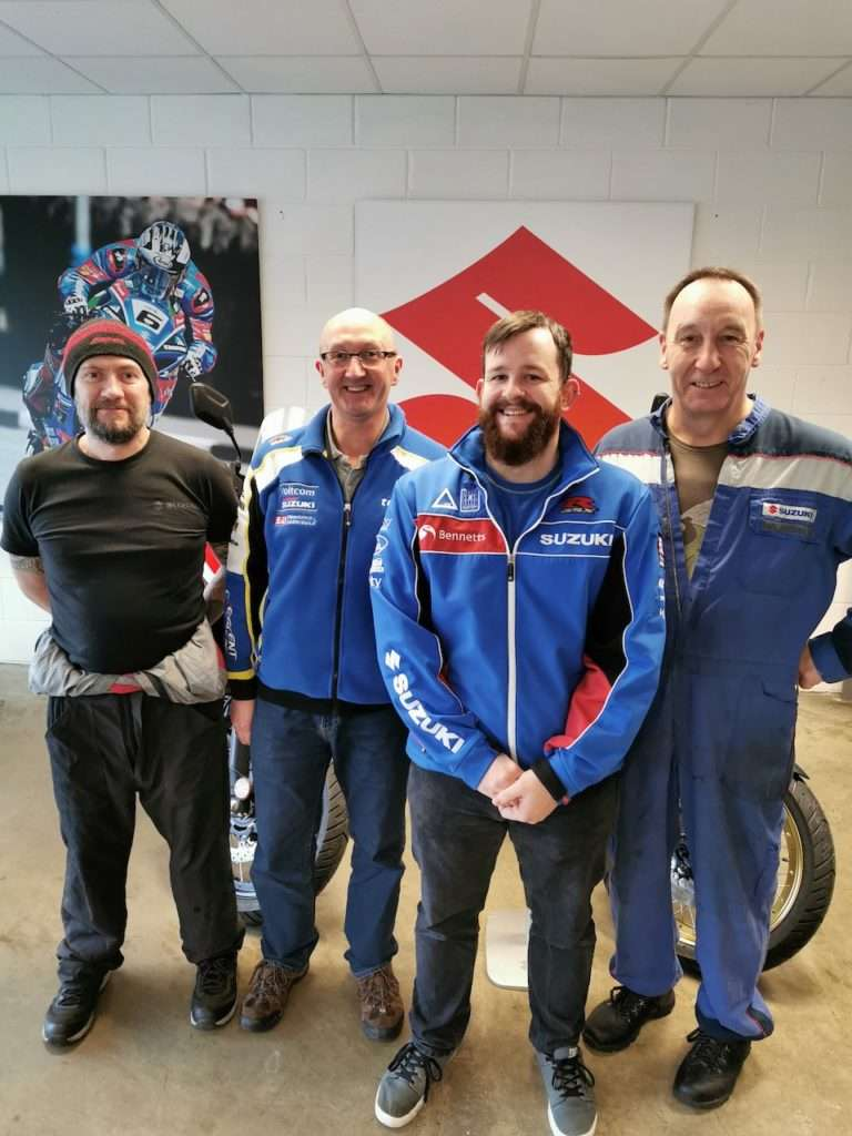 Rob Copp, Martyn Rae, Keiron Davies, Ian Model