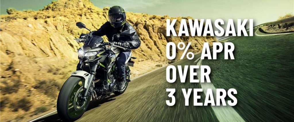kawasaki 0% offer