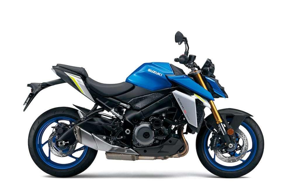GSX-S1000 motogp blue