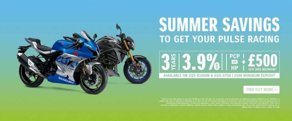 Suzuki summer savings gsx-r gsx-s