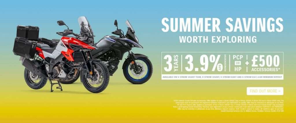 Suzuki summer savings v-strom