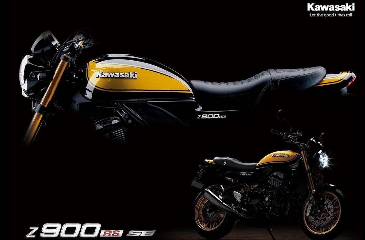 2022 kawasaki z900rs yellow ball