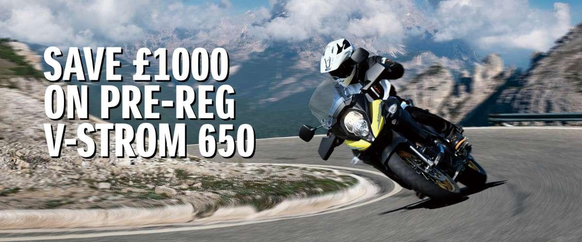 pre reg dl650 offer